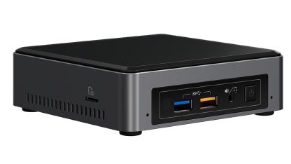 Intel NUC NUC7I3BNK i3-7100U 2.40 GHz UCFF Black,Grey BGA 1356