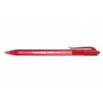Papermate InkJoy 100 RT Red Clip-on retractable ballpoint pen Medium 20 pc(s)