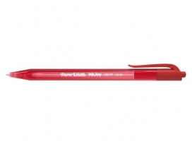 Papermate InkJoy 100 RT Clip-on retractable ballpoint pen Medium Red 20pc(s)