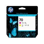 HP 70 magenta/gele DesignJet printkop