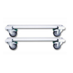 Microconnect CABINETCASTOR White rack accessory