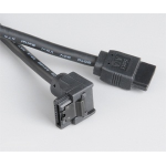 Akasa 1.0m SATA3 SATA cable 1 m Black