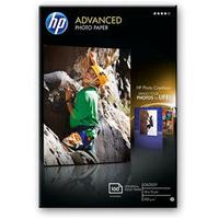 HP Advanced Glossy photo paper Black,Blue,White Gloss