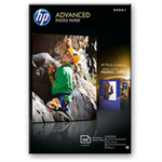 HP Q8692A photo paper Black, Blue, White Gloss