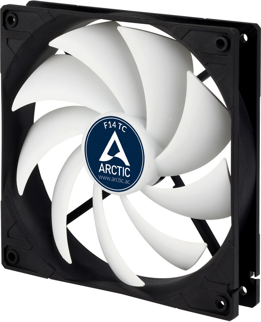 ARCTIC F14 TC 3-Pin Temperature-controlled fan with standard case