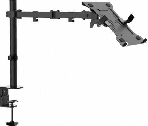 Vision VFM-DP2B+S notebook stand Notebook & tablet arm Black 41.9 cm (16.5
