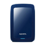 ADATA HDD Ext HV300 1TB Blue 1000GB Black external hard drive
