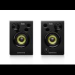 Hercules DJMonitor 32 luidspreker 30 W Zwart Bedraad