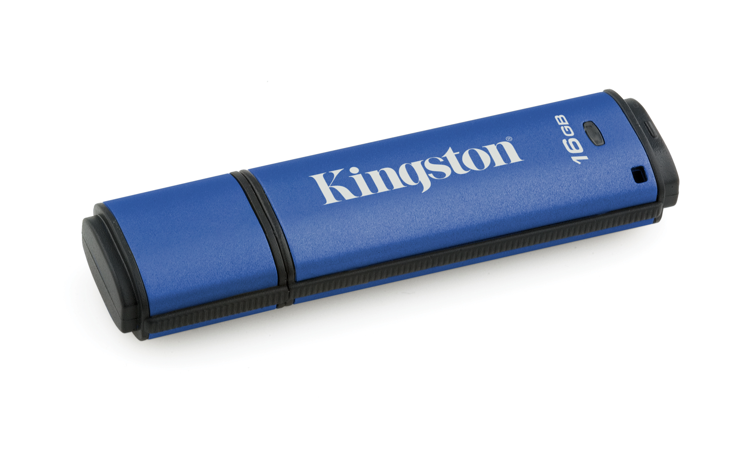 Kingston Technology DataTraveler Vault Privacy 3.0 16GB 16GB USB 3.0 Blue USB flash drive DTVP30/16G