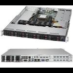 Supermicro SuperServer 1019P-WTR Intel C622 LGA 3647 1U Black