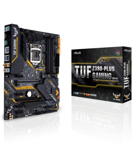 ASUS TUF Z390-PLUS GAMING (WI-FI) motherboard LGA 1151 (Socket H4) ATX Intel Z390