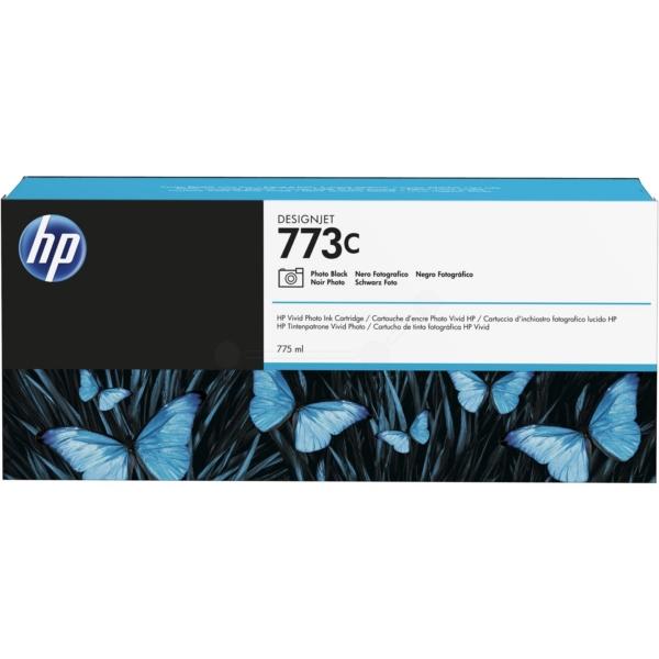 HP C1Q43A (773C) Ink cartridge bright black, 775ml