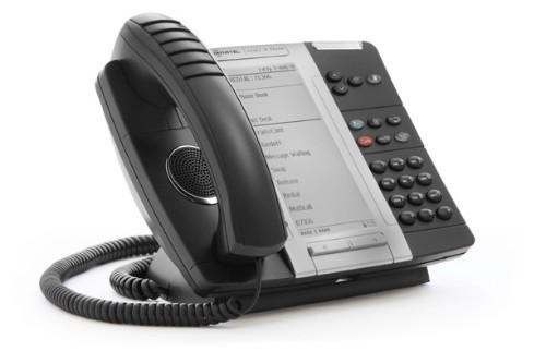 Mitel MiVOICE 5330e IP phone Black