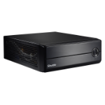 Shuttle XH110V PC/workstation barebone Low Profile (Slimline) Black Intel® H110 LGA 1151 (Socket H4)