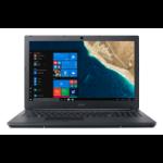 "Acer TravelMate P2 TMP2510-G2-M-304N Zwart Notebook 39,6 cm (15.6"") 1920 x 1080 Pixels Intel® 8ste generatie Core™ i3 i3-8130U 4 GB DDR4-SDRAM 256 GB SSD"