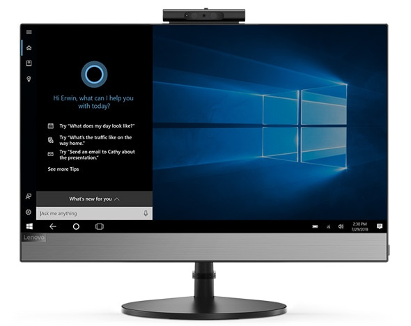 "Lenovo V530 54.6 cm (21.5"") 1920 x 1080 pixels 1.70 GHz 8th gen Intel® Core™ i5 i5-8400T Black All-in-One PC"