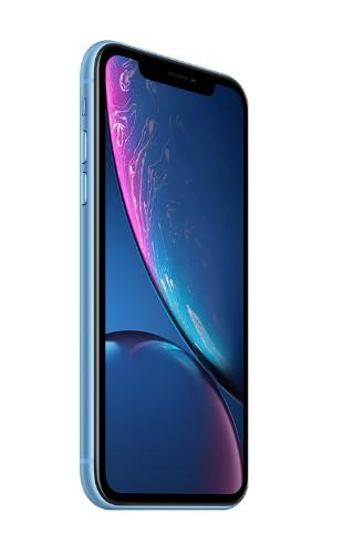 """Apple iPhone XR 15.5 cm (6.1"""") 128 GB Dual SIM Blue"""