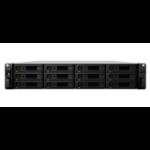 Synology RS3617RPXS/168TB-TE NAS/storage server Ethernet LAN Rack (3U) Black