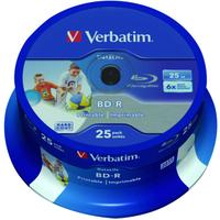 Verbatim 43811 blank Blu-Ray disc BD-R 25 GB 25 pc(s)