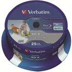 Verbatim 43811 blank Blu-Ray disc BD-R 25 GB 25 pc(s)