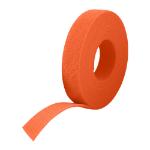 Cablenet 25m Reel x 10mm Velcro One Wrap Continuous Tape Orange
