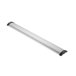 Vivolink VLFL922000 cable organizer Floor Cable bracket Aluminium, Black