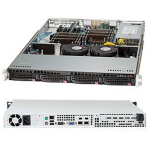 Supermicro SuperServer 6017R-TDF Intel® C602 LGA 2011 (Socket R) Rack (1U) Black
