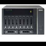 "QNAP REXP-1000 Pro 2.5/3.5"" Black"