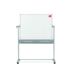 Nobo Classic Steel Magnetic Mobile Board Horizontal Pivot 1500x1200mm