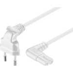 Microconnect PE030750AAW power cable White 5 m CEE7/16 C7 coupler