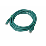 8WARE Cat 6a UTP Ethernet Cable, Snagless - 3m Green