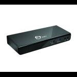 Siig JU-DK0211-S1 USB 3.0 (3.1 Gen 1) Type-A Black notebook dock/port replicator