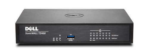 SonicWall TZ400 + TotalSecure 1Y hardware firewall 1300 Mbit/s