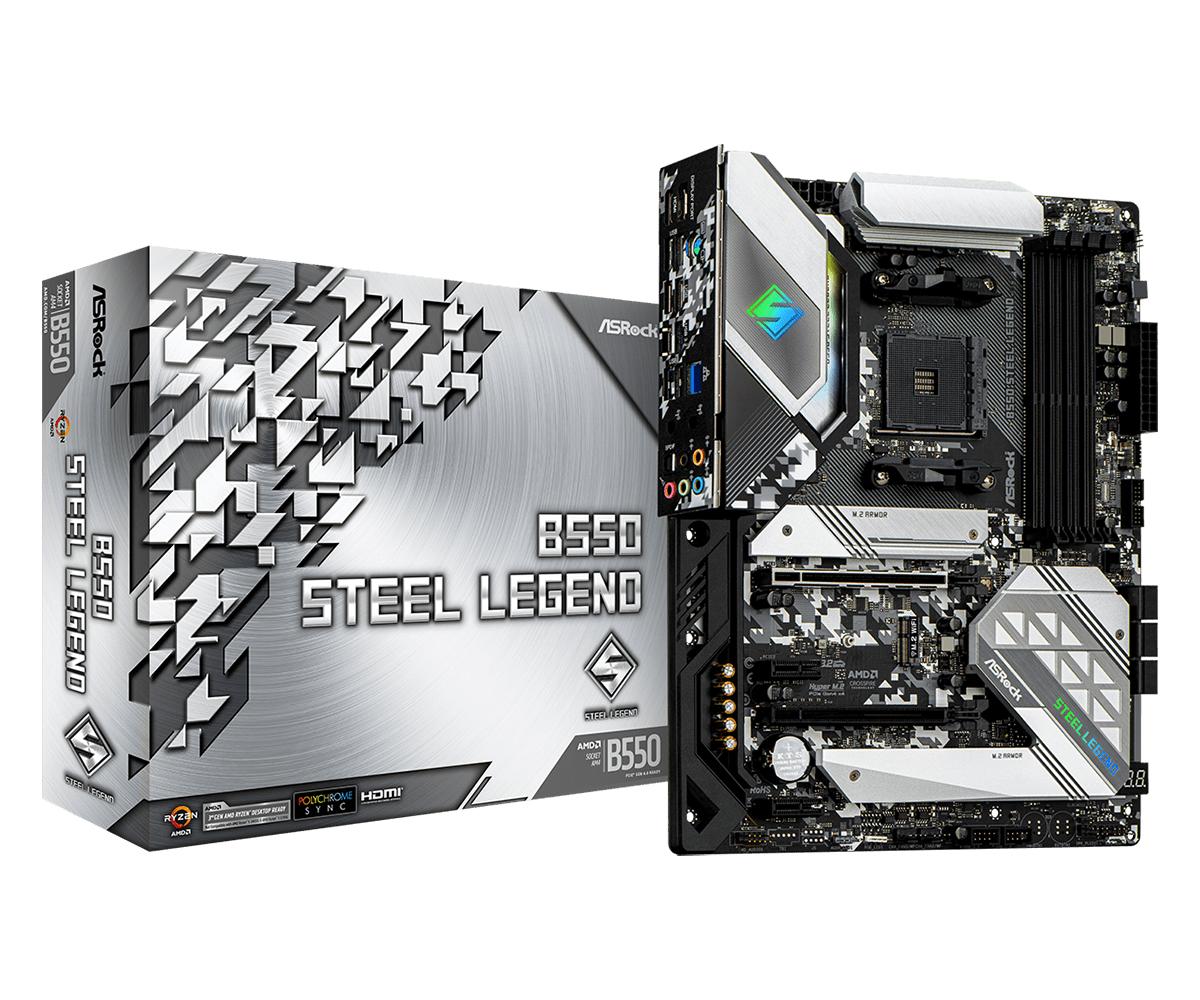 Asrock B550 Steel Legend Zócalo AM4 ATX AMD B550