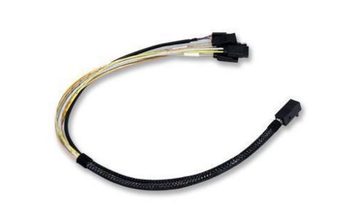 Broadcom L5-00220-00 Serial Attached SCSI (SAS) cable 0.6 m Black