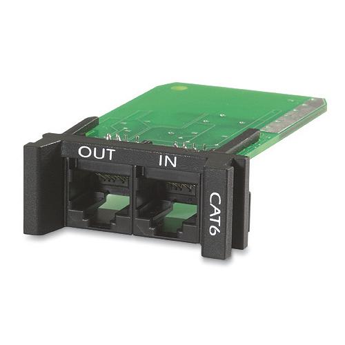 APC Suppressor PNETR6 Overspanningsbeveiliging 2 AC-uitgang(en) Zwart