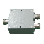 Ventev 698-2700 2-Way Splitter Cable splitter Silver
