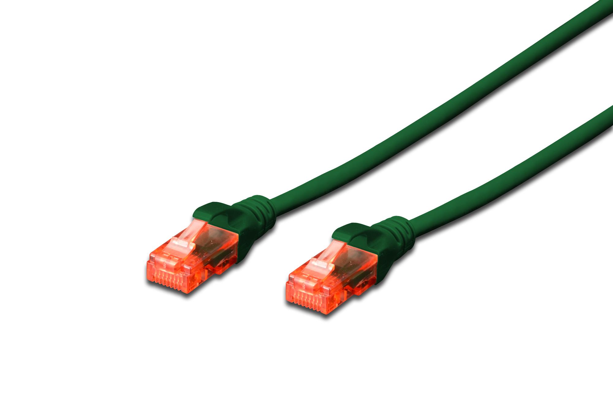 Digitus 1.5m Cat6 U/UTP networking cable U/UTP (UTP) Green