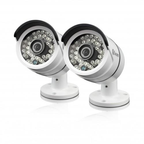 Swann SWPRO-H855PK2 CCTV security camera Indoor & outdoor Bullet White 1920 x 1080pixels