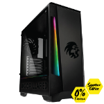 Gorilla Gaming Killer Gorilla: V1.1 Signature Edition - Ryzen 5 2600 3.4Ghz, 16GB RAM, 480GB SSD, GTX 1660 Ti 6GB