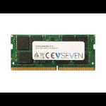 V7 4GB DDR4 PC4-19200 - 2400MHZ 1.2V SO DIMM X16 Notebook Memory Module - V7192004GBS-X16