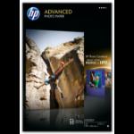 HP Q8697A Fotopapier Hoch-Glanz A3