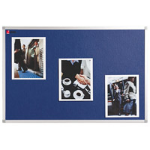 Nobo Classic Felt Noticeboard Blue 1200x900mm