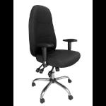 Eliza Tinsley Babylon 24 Hour Operator Chair Fabric Black DD