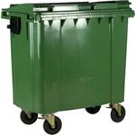 FSMISC 770L GREEN WHEELED BIN 377387