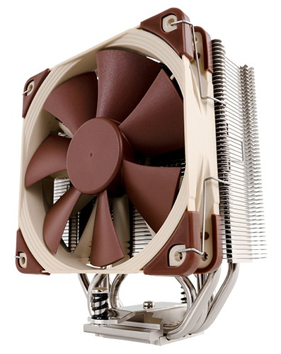 Noctua NH-U12S computer cooling component Processor Cooler 12 cm Brown, Stainless steel