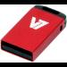 V7 Unidad de memoria flash USB 2.0 nano 16 GB, roja
