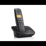 Gigaset A150A Analog/DECT telephone Nummerherkenning Zwart