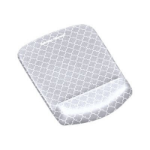 Fellowes 9549701 mouse pad Gray, White
