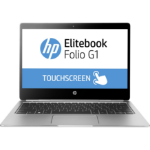 "HP EliteBook Folio G1 Silver Notebook 31.8 cm (12.5"") 3840 x 2160 pixels Touchscreen 1.1 GHz Intel® Core™ M m5-6Y54"